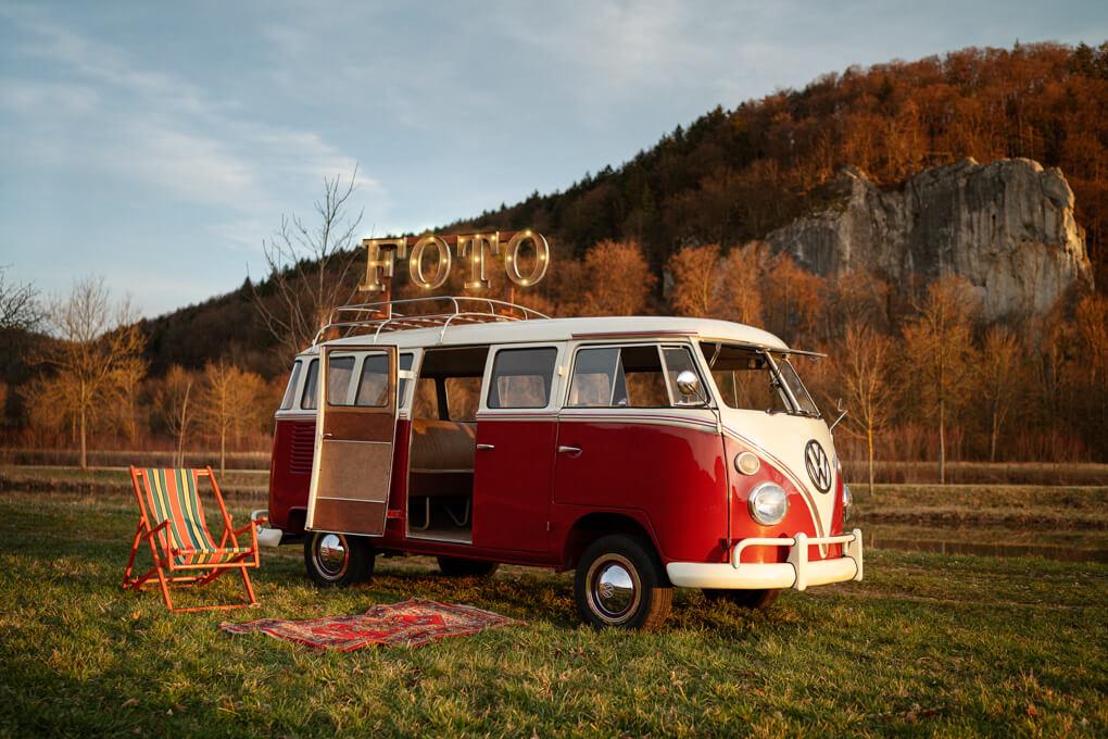 Fotobox Bulli, VW Bus, Bilder, Fotos, Fotograf, Auto, Brautauto, Hochzeitsauto Kopie